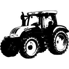 Wandtattoo Aufkleber Traktor Steyr MT 9085