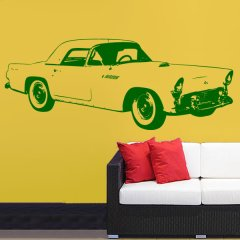Wandtattoo Auto Ford Thunderbird 1955