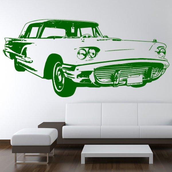 Wandtattoo Auto Ford Thunderbird 1959