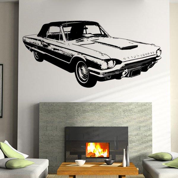 Wandtattoo Auto Ford Thunderbird 1964 Cabrio