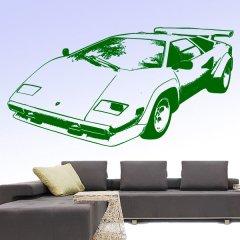Wandtattoo Lamborghini Countach Auto