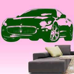 Wandtattoo Maserati Grand Turismo Auto