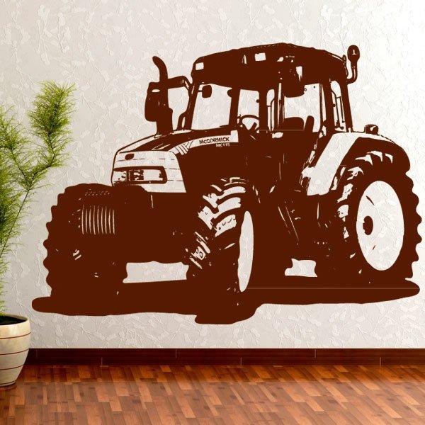 Wandtattoo Traktor McCormick MTX 135