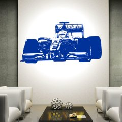 Wandtattoo Auto Mc Laren Mercedes F1