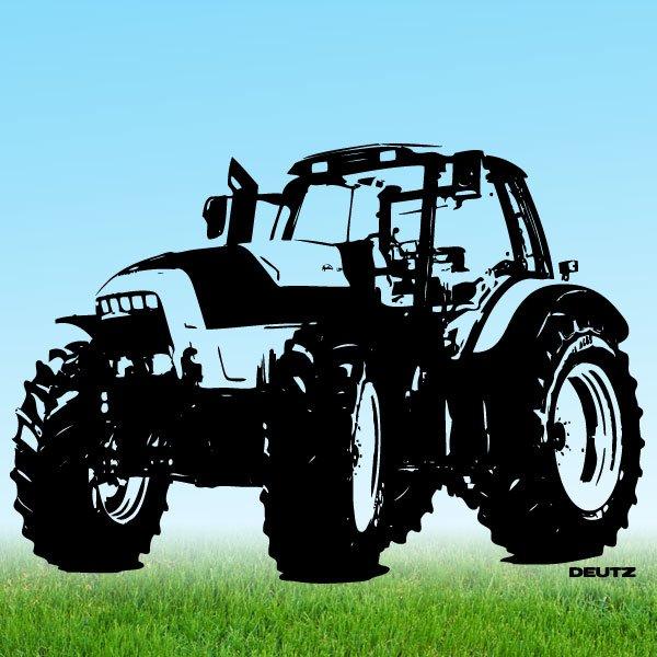 Wandtattoo Traktor Deutz L720 Trecker