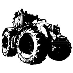Wandtattoo Traktor Fendt 900 Trecker