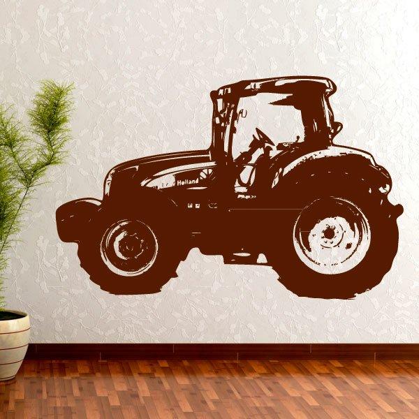 Wandtattoo Aufkleber Traktor New Holland T 6030