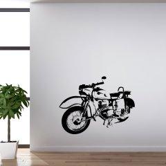 Wandtattoo MZ ES 250 Moped DDR