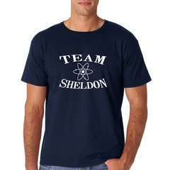 Nerdshirt  Team Sheldon Big Bang Theory Gamer Fanshirt