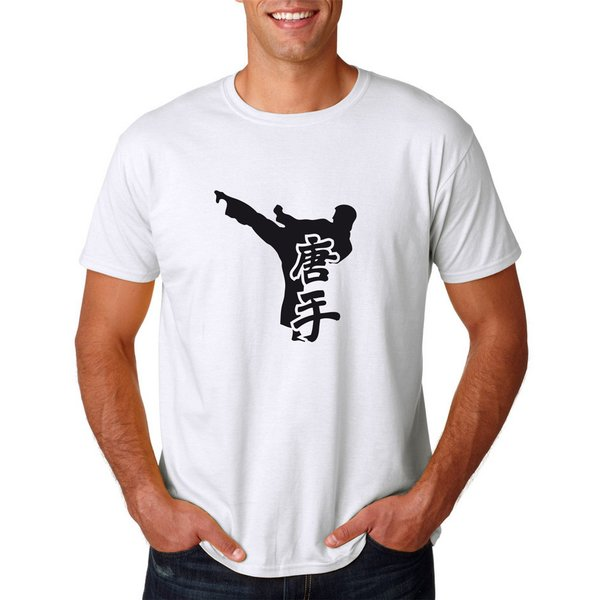 T-Shirt Karate Kung Fu Kampfsport