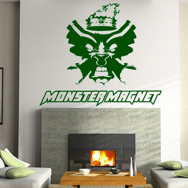 Wandtattoo Musik MonsterMagnet Rock