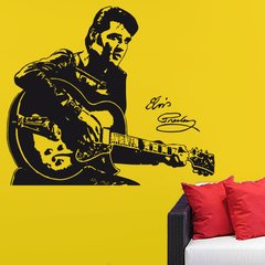 Wandtattoo Musik Elvis Presley - Nr.1 The King of