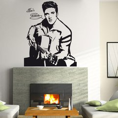 Wandtattoo Musik Elvis Presley - Nr.3 The King of