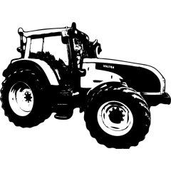 Wandtattoo Traktor Valtra T 131