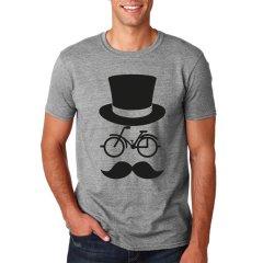Radshirt Bike Mustache