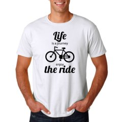 """Radshirt """"life is a journey - enjoy the ride"""""""