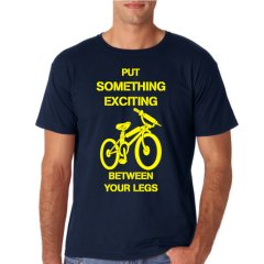 """Radshirt """"put something exciting between your legs"""""""