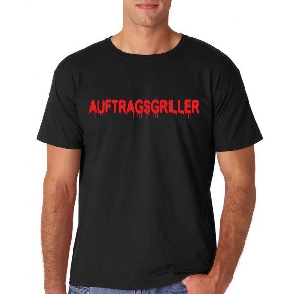 """T-Shirt Funshirt """"Auftragsgriller"""""""