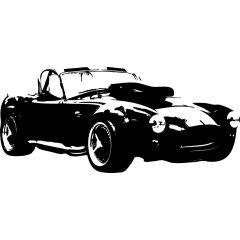 Wandtattoo Cobra Auto PS