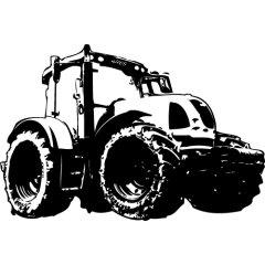 Wandtattoo Traktor Claas ARES 557 ATZ Kinderzimmer