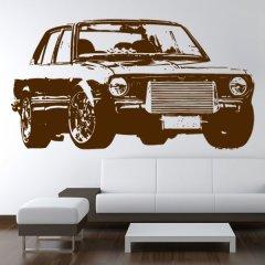 Wandtattoo Auto Toyota Corolla
